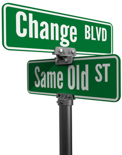 change blvd and same old street